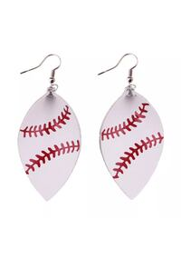 pair of white-and-red hook earrings Vallejo, 94591