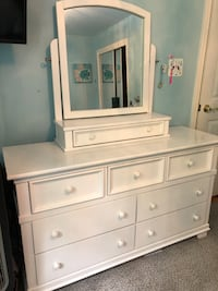Young America Dresser and Mirror