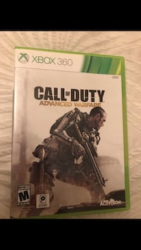 Xbox 360 Call of Duty Advance Warfare case Torrance, 90503