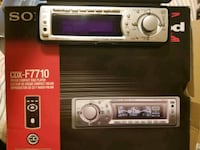 Sony FM/AM compact disc player North Vancouver, V7L 1A4