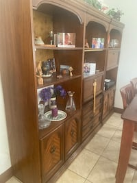 3 Wood Cabinets with lights n draws, shelves  Coconut Creek, 33073