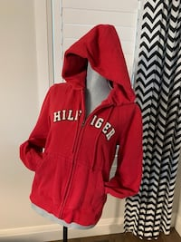 Tommy Hilfiger zip up hoodie size large