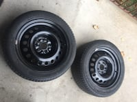Sale of 2 rims and tires  225/50/17 Michelin X3 Mississauga, L5N