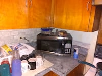 black and gray microwave oven Tulsa, 74110
