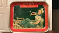 Coca-Cola tray 1940 some scratches good condition best offer McHenry, 60050