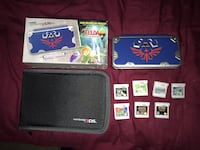 New 2DS Zelda edition with 1 preloaded game all cartridges sold 217 mi