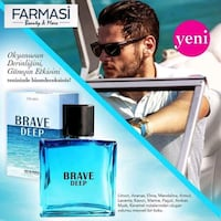 Farmasi Brave Deep Edp For Erkek 60 Ml Aziziye, 81010