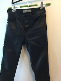 Topshop Coated Leigh Jeans Size 26