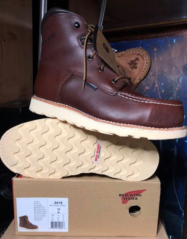 599cb9b3fb07e0 Used Red Wing boots  2415 steel toe sz10D New for sale in Los ...
