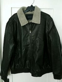 Mens Structure Leather Jacket Brown New XXL Corona, 92882