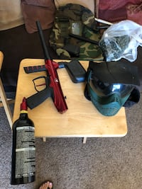 Gryphon paintball gun and accessories  Fresno, 93726