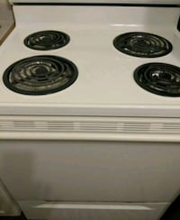 white and black electric coil range oven Saint Petersburg, 33712