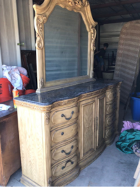 Dresser w/ mirror and side table CORPUSCHRISTI