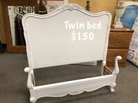 Twin Artison white bed provincial Miamisburg
