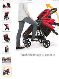 Safty 1st Baby's black and red travel system 505 km