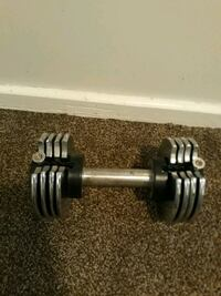 Multiple weight dumbbell
