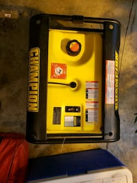 Champion 3500 watt generator only 10 hours