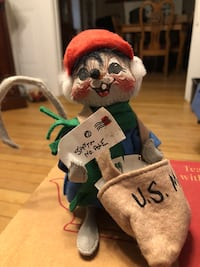 Annalee Doll with Mail for Santa from 1991 Haverhill, 01830