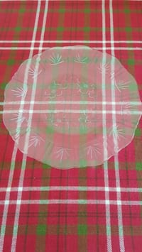Clear round glass plate El Paso, 79938