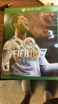 Xbox One EA Sports FIFA 17 game case Puyallup, 98375