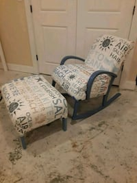two white-and-blue floral padded armchairs Barnstable, 02632