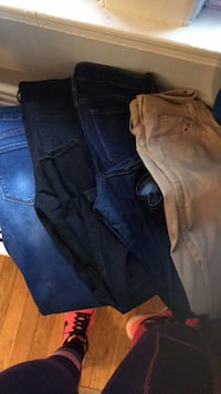 Two black and blue denim jeans Arlington, 22203
