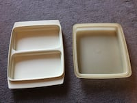 Tupperware Divided Container & Lid