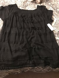 Black dress top size xl/new with tags Montgomeryville, 18936