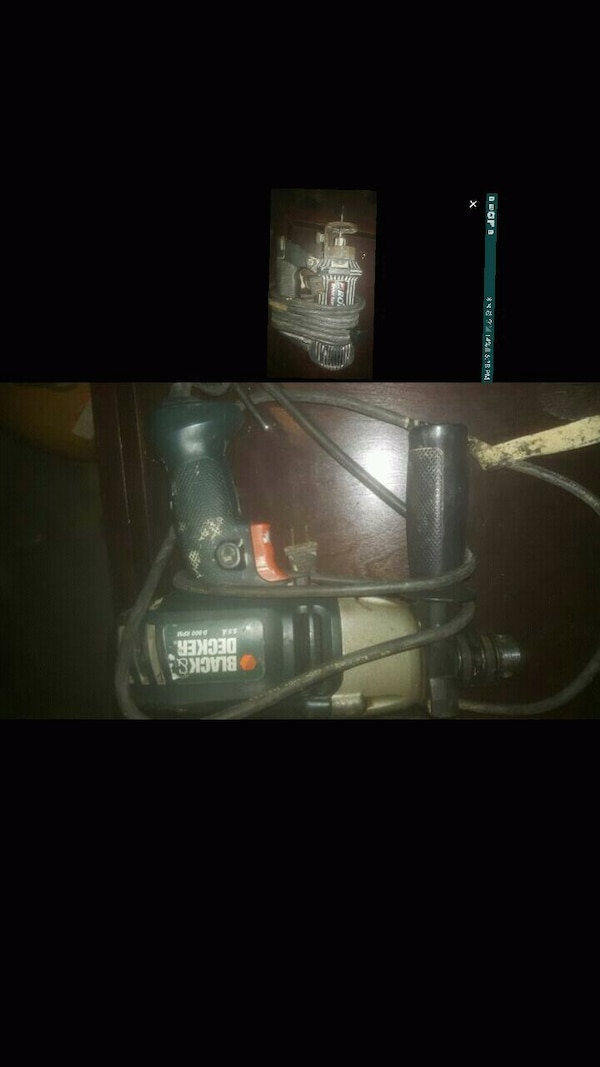Black&decker drill... spiral saw for dry wall