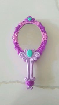 pink and purple wooden frame mirror Vienna, 22180