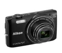 Nikon Coolpix S6800 Digital Camera - Black