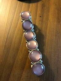 silver and pink pearl beaded bracelet Gaithersburg, 20879