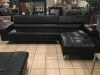 Black 2 Pc sectional only $599.99