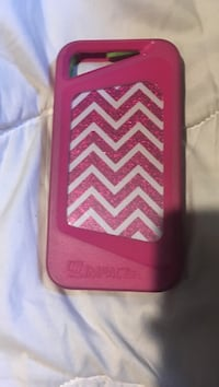 Red and white chevron iphone case Arkport, 14807