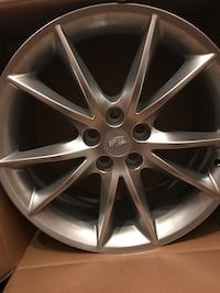 4 20' Aluminum Premium Rims only used during 200 miles driven in CTX Cadillac. Pick up by appointment.  Clinton, 20735