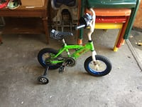 Toddler's green and black bicycle Kendallville, 46755