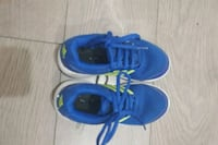 pair of blue Adidas running shoes Vancouver, V5X 2M5