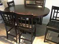 Bar High Dinner Table Good Condition  White Rock