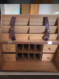 Nice table organizer for $15 only.  If interested please text Toronto, M1V 2N7