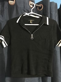 black and white striped polo shirt Mississauga, L5L 5H7