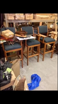 Pool table player chairs! $50 per chair, all 3 for $125