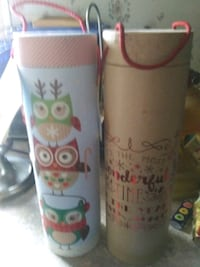 Round tall Christmas boxes Augusta, 30906