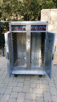 Electric food cart for warming food great for catering