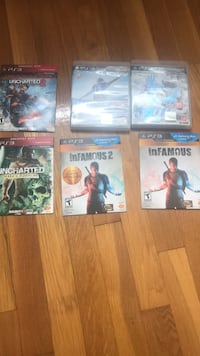 PS3 games 10 each Collingswood, 08108