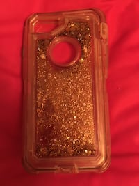 IPhone 6 Case - Sparkly Rose Gold Vernon