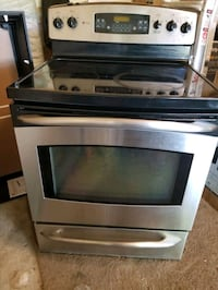 Electric Range oven (Glass top induction)