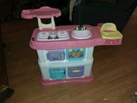 pink, white, and blue kitchen playset Hot Springs, 28743