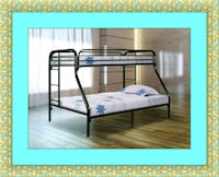 Full twin bunkbed frame free delivery and shipping 29 km