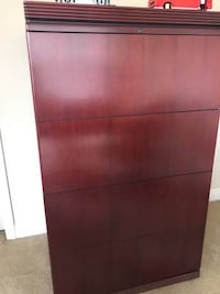 Solid cherry wood filing cabinet Tampa, 33626