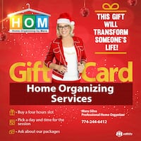 HOME ORGANIZING SERVICES Framingham, 01702